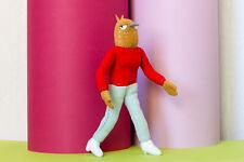 Tuca and Bertie plush, Bertie toy , handmade soft doll, 10 in high