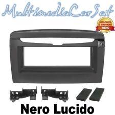 Mascherina Cambio Autoradio Radio Lancia Y Ypsilon dal 2012 Nero Lucido 3212