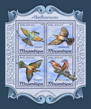 Mozambique 2018 MNH Bee-Eaters Bee-Eater 4v M/S Birds Stamps