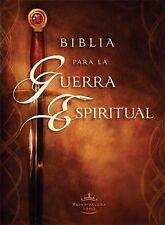 Biblia Para la Guerra Espiritual by Casa Creación Staff (2012, Hardcover)