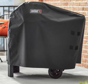 Weber 7181 Premium-Abdeckhaube Für den Pulse 1000/2000 mit Rollwagen