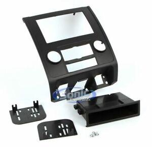 Scosche FD1436BLKB 1/2 Single DIN Car Installation Wire Dash Kit  Black
