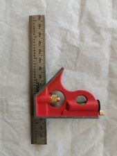 Combination Square with Metal Scriber - 150 mm