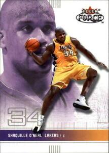 2001 Shaquille O'Neal Fleer card#14 Los Angeles Lakers Shaq NBA,wwe,Aew,wcw,Bid.