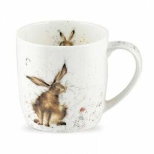 Wrendale By Royal Worcester - Bone China Mug: Good Hare Day
