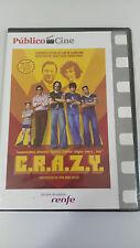 C.R.A.Z.Y. CRAZY DVD JEAN-MARC VALLEE SPAIN EDITION CASTELLANO FRANCES NEW NUEVA