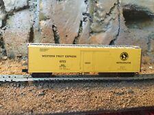N Scale Micro-Trains 50' plug door reefer Wefx Great Northern