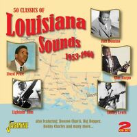 50 CLASSICS OF LOUISIANA SOUNDS (RUSTY DOUG, AL TERRY, LAZY LESTER,..) 2 CD NEW!