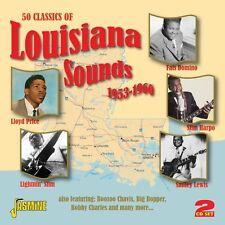 50 CLASSICS OF LOUISIANA SOUNDS (RUSTY DOUG, AL TERRY, LAZY LESTER,..) 2 CD NEU