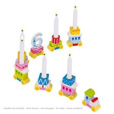 Birthday Kid's Birthday Birthday Train Wood Locomotive 7 Hanger Goki GK106