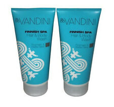 (1 Liter/29,98 Euro) 2 x aldo vandini Finnish SPA Hair & Body Wash,2 x 200 ml