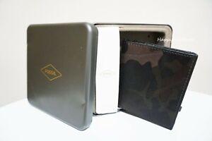 FOSSIL Men's Raff Coin Pocket Bifold Wallet 4 credit card slots