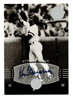 2004 UD Legends Timeless Team Authentic Autograph Ken Griffey Sr. Yankees 1985