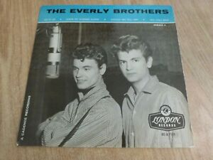THE EVERLY BROTHERS - THE EVERLY BROTHERS NO.3 -  UK EP - TRI -VERY GOOD / VG +