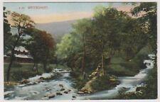 Cumbria postcard - Watersmeet (A218)