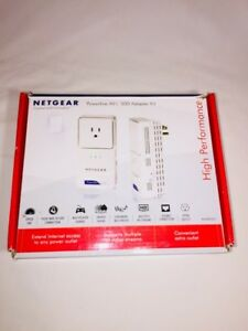 NETGEAR XAVB5501-100NAS Powerline AV+ 500 Adapter Kit - IN BOX!!