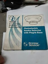 System Sensor i3 Series Photoelectric Smoke Detector Plug-In Base 4W-B 4-Wire