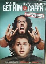 New Sealed Get Him to the Greek 2010 Dvd Unrated & Theatrical Widescreen