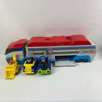 Paw Patrol Mission Patroller Bus With 3 Pup Vehicles Working Sound Effects