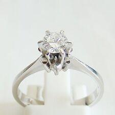 Ring Gold 750er 0,45 ct Brillant Goldringe Solitär 18 kt TopWesselton Diamant