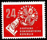 275 postfrisch DDR Briefmarke Stamp East Germany GDR Year Jahrgang 1950