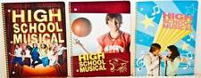 Disney High School Musical School Notebooks Set Of 4 Zac Efron