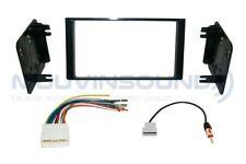 Radio Stereo Installation Dash Kit Combo 2DIN + Wire Harness + Antenna SU12
