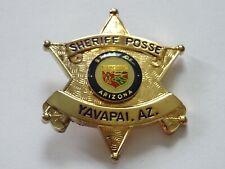 Polizeiabzeichen - Sheriff Posse Yavapai Arizona- police badge