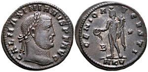 GALERIUS (309-310 AD) AE Follis. Cyzicus #BF 8100