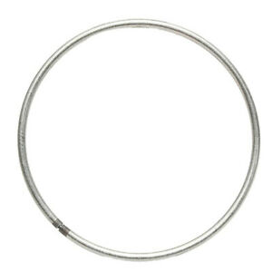 10pcs Welded Iron Metal Ring Craft Round Hoop DIY Handmade Accessories UK