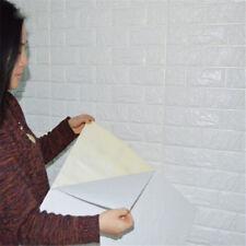 20PC PE Foam Wall Sticker 3D Brick Stone Embossed Wall Paper DIY Wall Home Decor