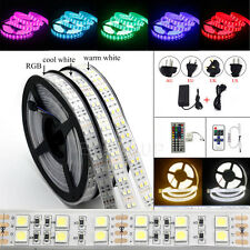 1M-20M SMD IC/5050 RGB RGBW Flexible Strip String Light DC12V (Remote+Power)