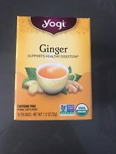 Ginger Tea, Yogi Tea, 16 tea bag 1 pack