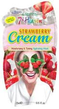 3x Montagne Jeunnesse 7th Heaven Strawberry Cream Hydrating Face Mask - 15ml