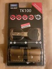 tesa Assa Abloy 35x35mm Cilindro de Alta Seguridad, Doble Embrague