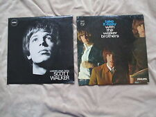 SCOTT WALKER LOOKING BACK WITH + THE WALKER BROTHERS Take It Easy 2X Vinyl LPs