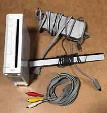 Nintendo Wii White Console With Cords & Sensor Bar RVL-001 | GameCube Compatible