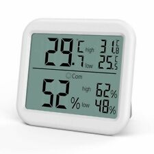 Indoor Thermometer Hygrometer Home Digital Temperature Humidity Monitor Gauge