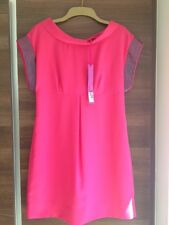 Pink with Sequins M&S Limited Collection Dress. Size 10. RRP £35