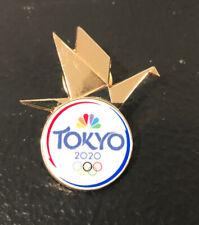 Tokyo 2020 Summer Olympics NBC Media Pin Crane