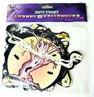 Beistle Co Happy Halloween 6ft Jointed Banner Vintage 1989 Cool Graphics New
