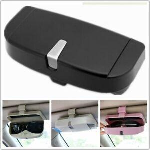 Brillenetui Sonnenbrille Auto Sonnenblende Brillebox Hartschale Aufbewahrungsbox