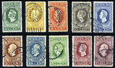 NETHERLANDS 1913 The Centenary of Independence Set  SG 208 to SG 223 VFU
