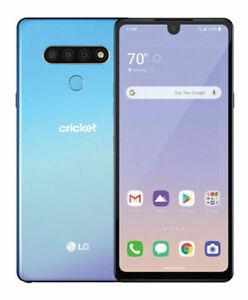 LG Stylo 6 LMQ730AM- 64GB - BLUE - CRICKET ONLY