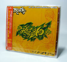 JET SET RADIO Original Sound CD Soundtrack OST Sega Dreamcast Future Grind JSRF