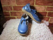 Barefoot Freedom by Drew Blue Leather Mary Janes NEW!! womens  sz 5W 2377