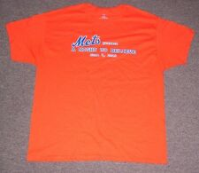 "New York Mets 2013 A.L.S. ""A night to believe"" T-Shirt men's size-XL 6/7/13 SGA!"