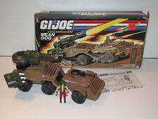1988 GI JOE MEAN DOG w/ WILDCARD v1 100% COMPLETE MIB - HASBRO