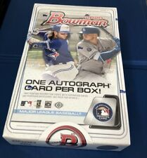 2020 BOWMAN BASEBALL HOBBY BOX Factory Sealed DHL FEDEX SHIP
