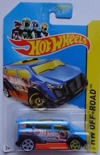 2014 Hot Wheels HW OFF-ROAD Secret Treasure Hunts Speedbox 101/250 (Blue)